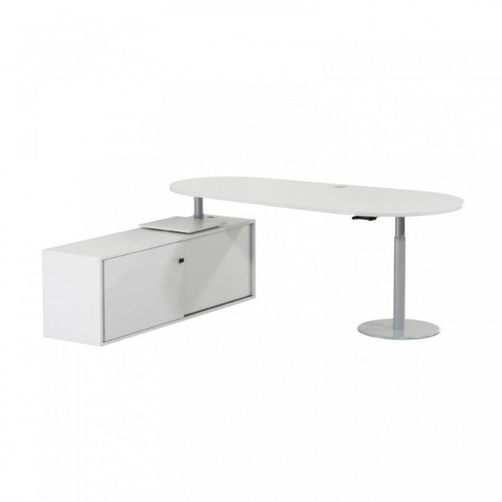 STEELCASE - Schreibtischkombination mit Sideboard