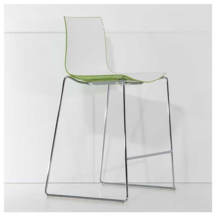 """ARPER """"CATIFA 46"""" - Barhocker mit zweifarbiger Sitzschale"""