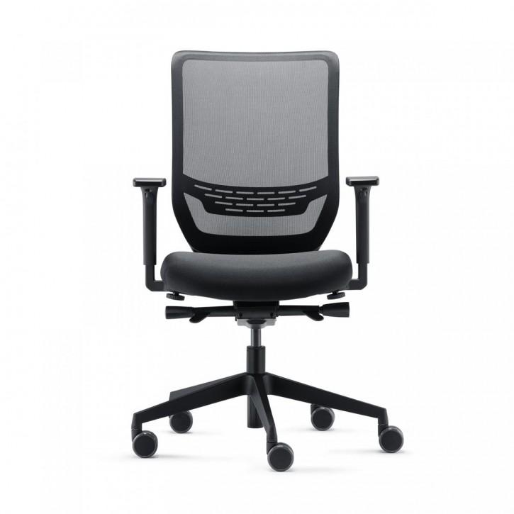 """DAUPHIN """"TO SYNC MESH PRO"""" - ergonomischer Bürodrehstuhl"""