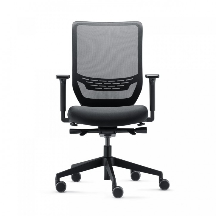 "TRENDOFFICE ""TO SYNC MESH PRO"" - ergonomischer Bürodrehstuhl | black"