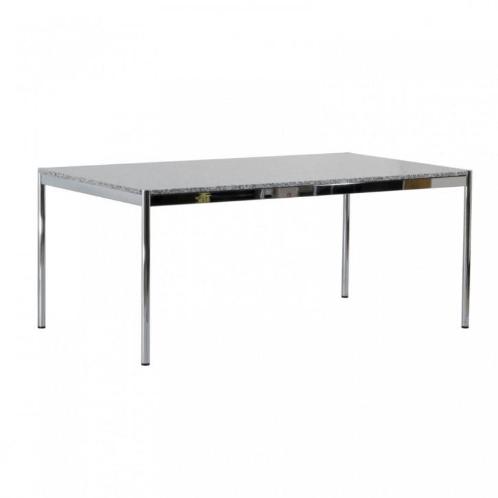 USM HALLER - Schreibtisch, Konferenztisch mit Granitplatte