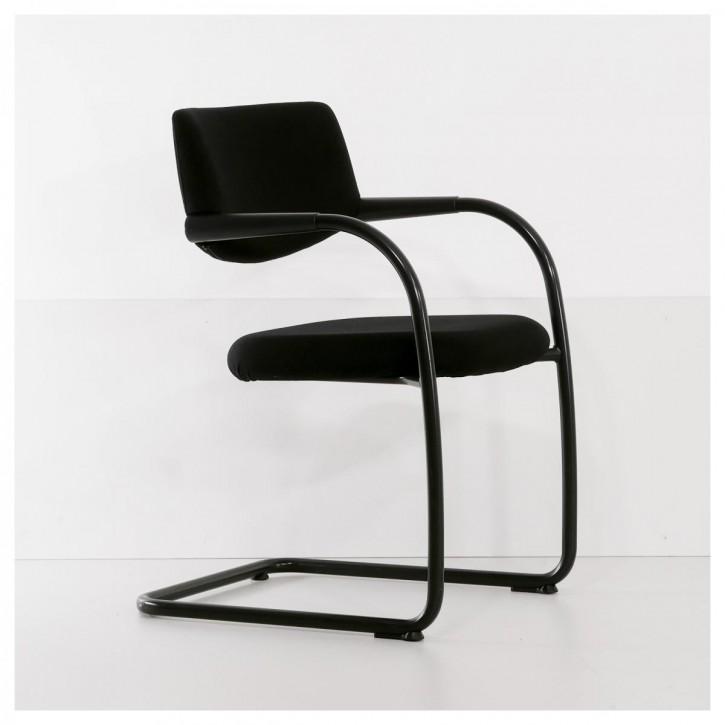 VITRA VISAVIS - Besucherstuhl mit Sitz- & Rückenpolster