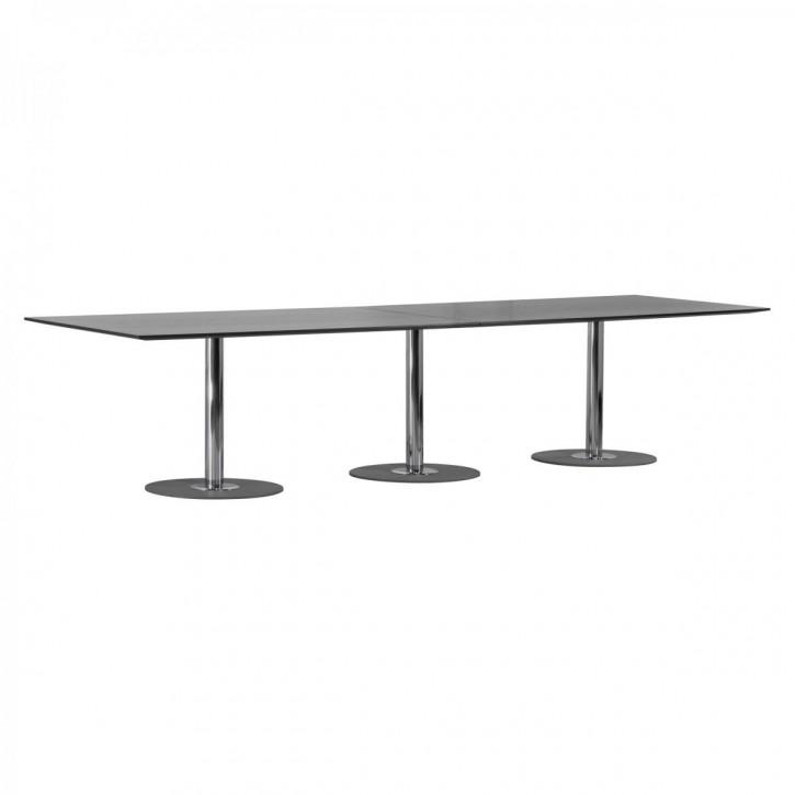 """BRUNNER """"SPIRA"""" - Konferenztisch mit 2-teilger Tischplatte"""