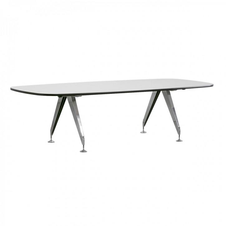 """SEDUS """"INVITATION"""" - Konferenztisch mit bootsförmiger Tischplatte"""