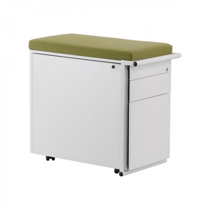 KINNARPS ORDEMO - Rollcontainer mit Sitzkissen