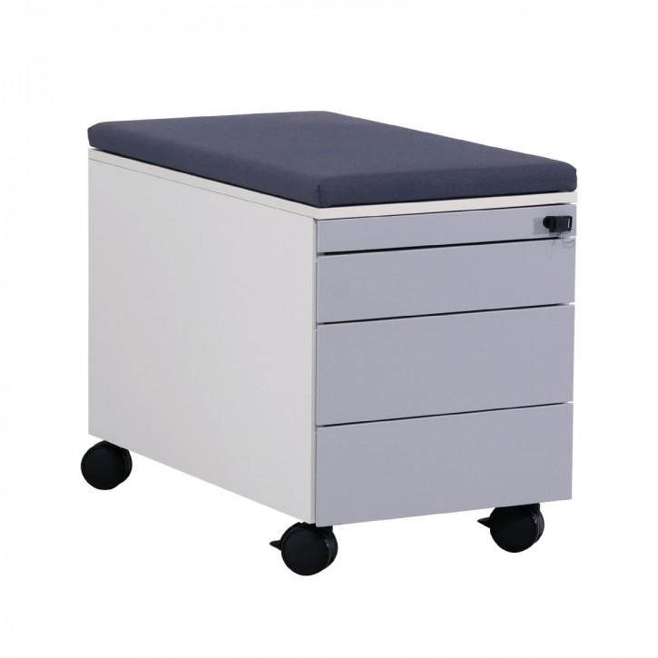 STEELCASE - Rollcontainer mit Sitzauflage