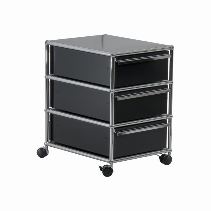 USM HALLER - Rollcontainer mit 3 Schubladen