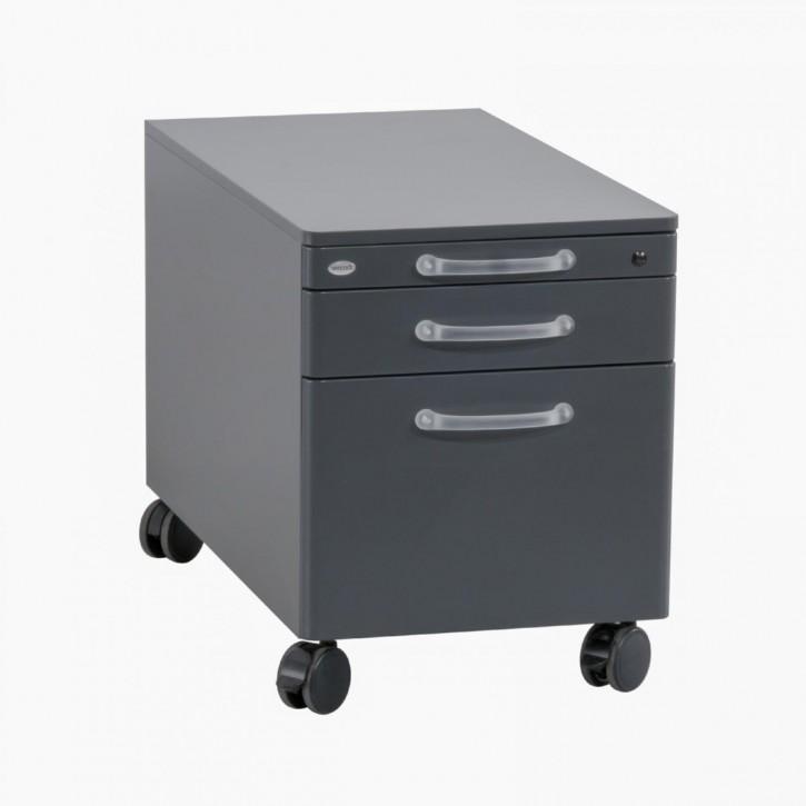WERNDL STEELCASE - Rollcontainer mit 3 Schubladen