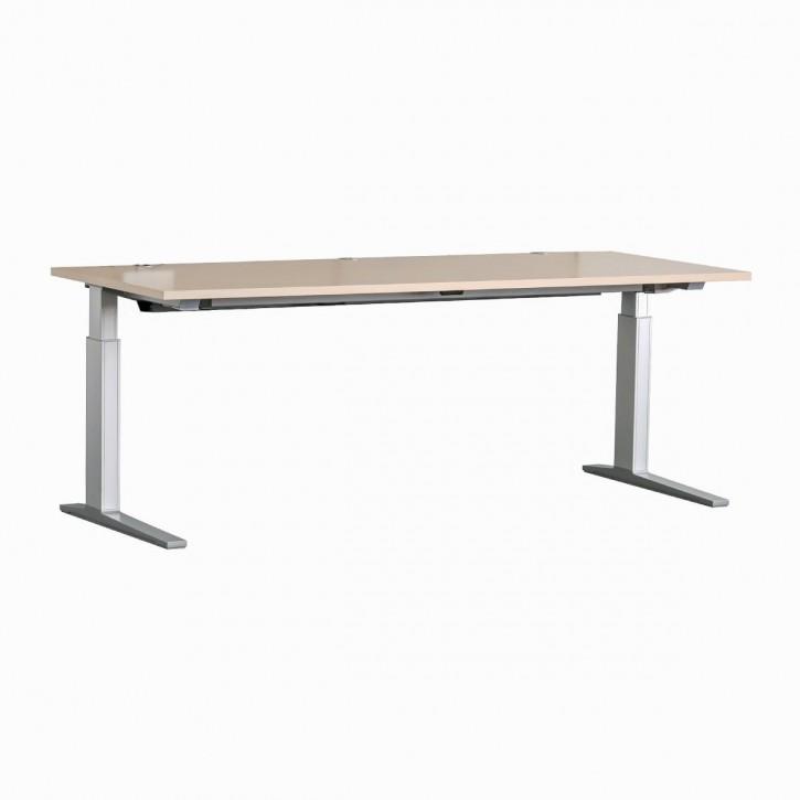 BENE - höhenverstellbarer Schreibtisch - T-WORK