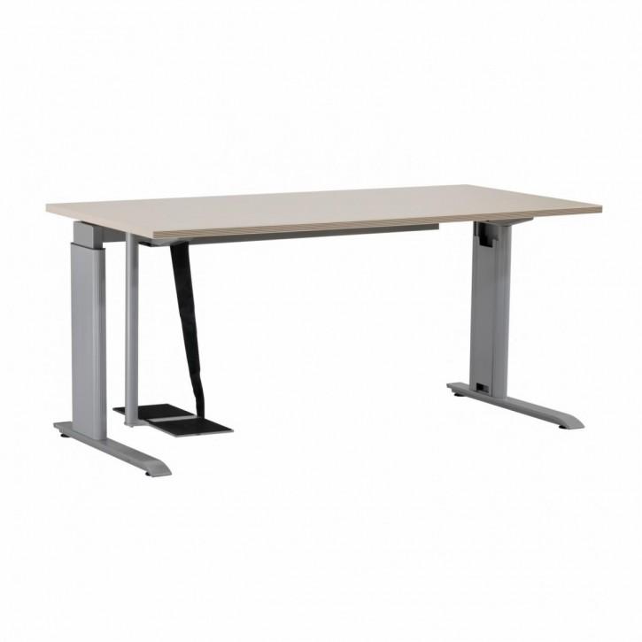 BENE - höhenverstellbarer Schreibtisch mit PC-Halterung