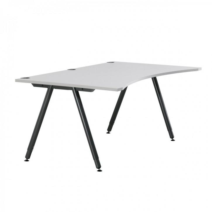 KINNARPS / SAMAS  - höhenverstellbarer Schreibtisch, Computertisch