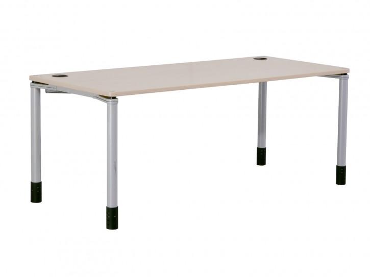 """STEELCASE """"QUADRINO"""" - höhenverstellbarer Schreibtisch, Computertisch"""