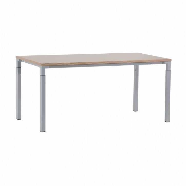 """STEELCASE """"KALIDRO"""" - Schreibtisch, Computertisch Buche / Multiplex"""