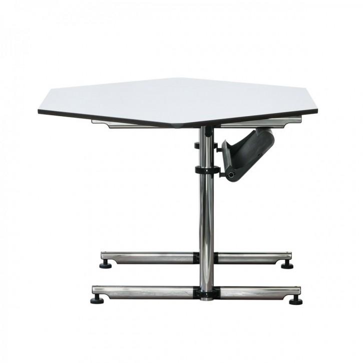 USM KITOS - Schreibtisch mit Sechseck-Platte