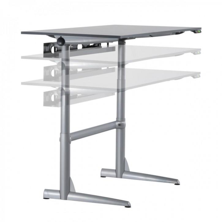 AHREND - elektrisch höhenverstellbarer Schreibtisch