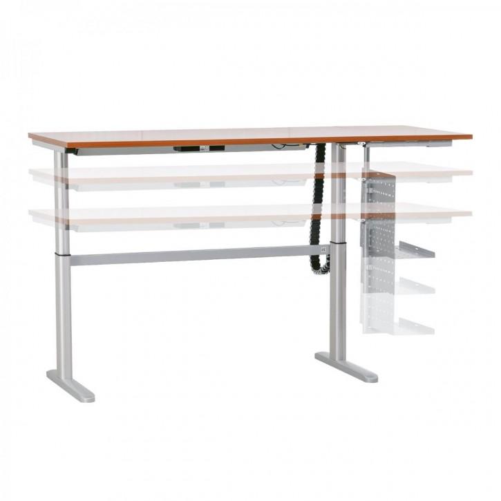 """CEKA """"VITALFORM"""" - Sitz- und Stehtisch, elektrisch höhenverstellbar Schreibtisch"""