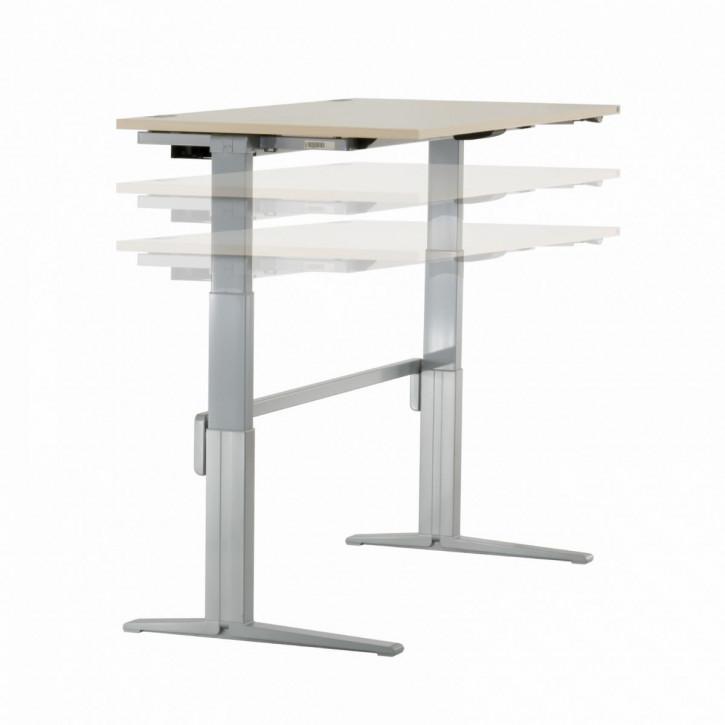 KÖNIG + NEURATH - elektrisch höhenverstellbarer Schreibtisch