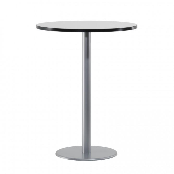 STEELCASE - Stehtisch mit runder Tischplatte