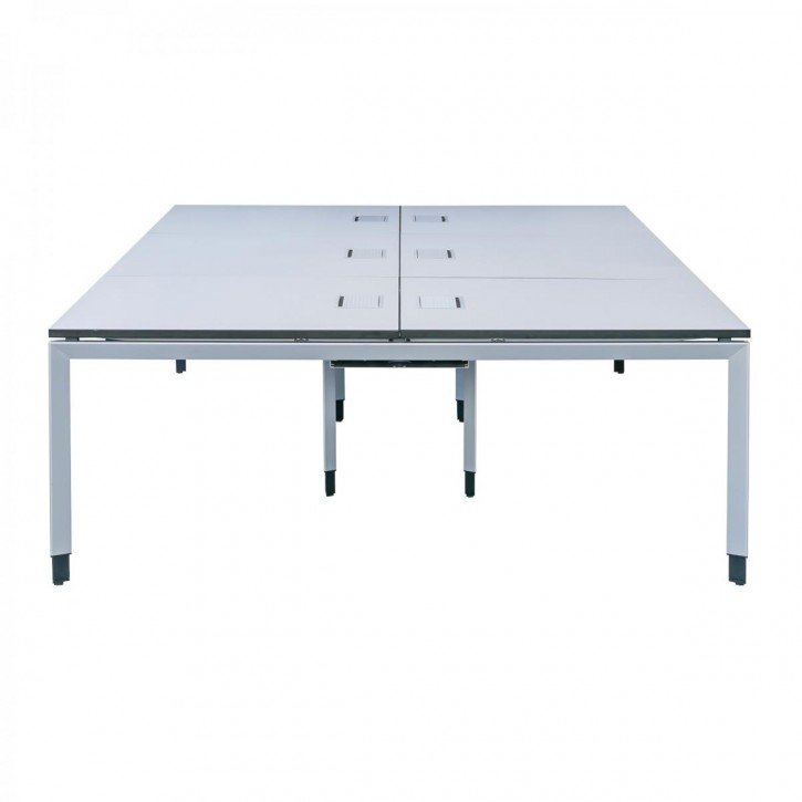 "STEELCASE ""FRAME ONE"" - 6er Workbench, Konferenztisch"