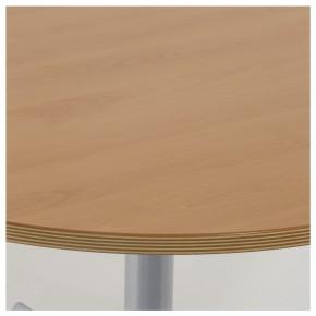 WERNDL STEELCASE - höhenverstellbarer, runder Besprechungstisch 100 cm