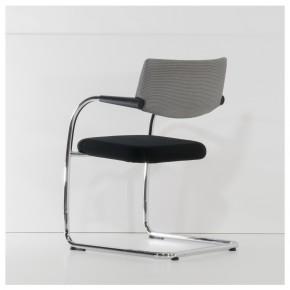 VITRA VISAVIS - Besucherstuhl mit Sitzpolster
