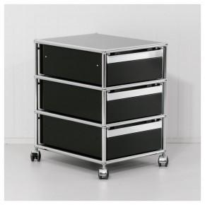 """USM """"HALLER"""" - Rollcontainer mit 3 Auszügen"""