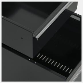 USM HALLER - Rollcontainer mit 2 Auszügen