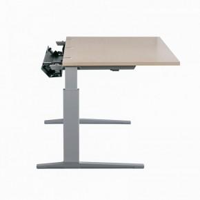 """BENE """"T-WORK"""" - höhenverstellbarer Schreibtisch, ahorn"""