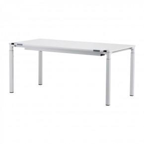 Steelcase Kalidro - höhenverstellbarer Schreibtisch in Weiss