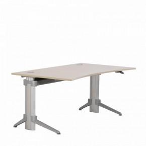 """LEUWICO """"GO2MOVE"""" - Sitz- und Stehtisch, manuell höhenverstellbar Schreibtisch"""
